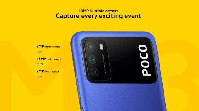 Kamera Poco M3