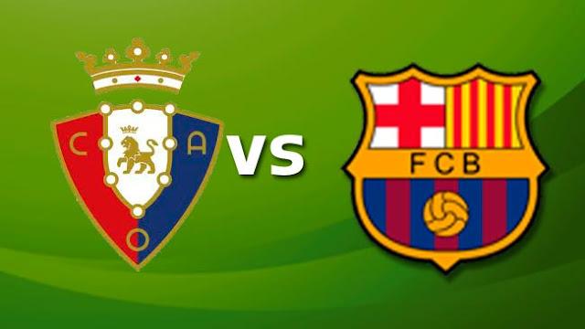 بث مباشر مباراة برشلونة وأوساسونا اليوم 16-07-2020 الدوري الإسباني