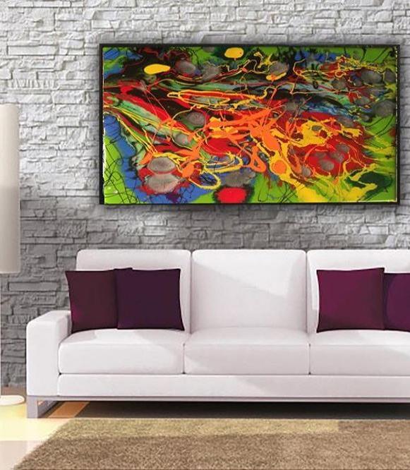 92 Gambar Lukisan Abstrak Pattern Yang Kreatif Dan Unik Punya 1001 Makna