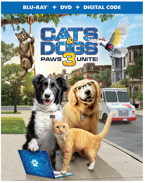Cats & Dogs 3: Paws Unite! – First Film Clip & Photos Revealed!