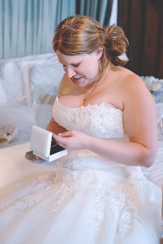 Bride before wedding photo