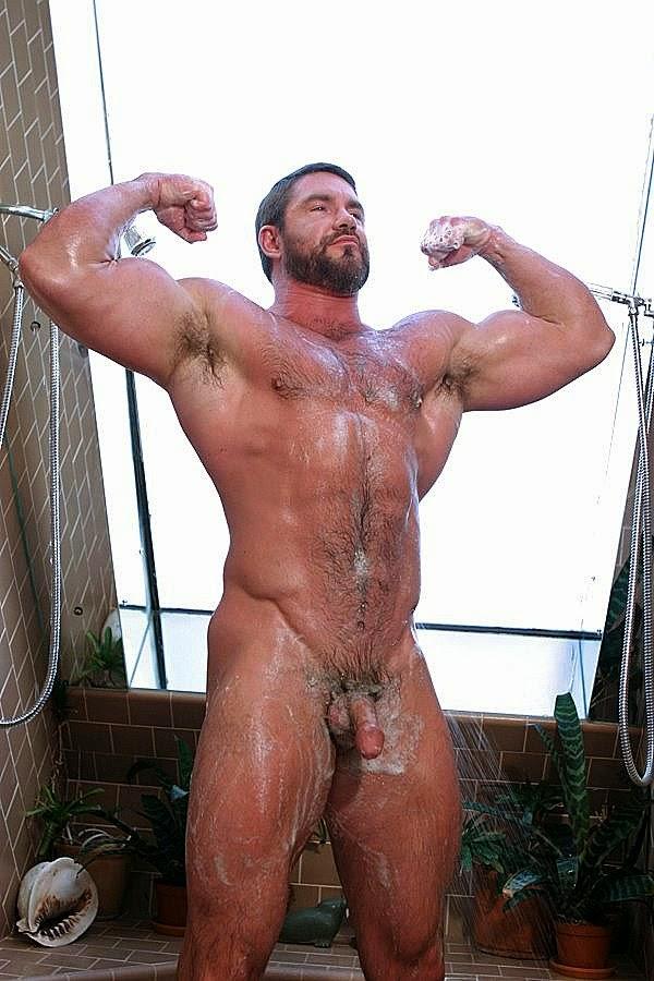 Big Muscle Man Naked