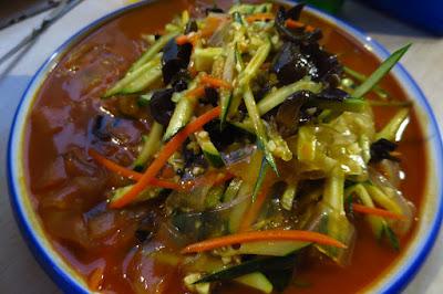 Dong Bei Xiao Chu (东北小厨), mung bean noodle salad