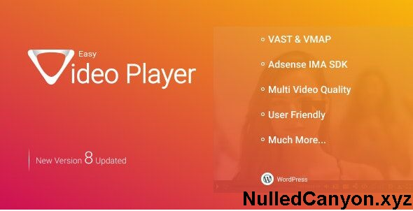 (Free Download) Easy Video Player WordPress Plugin