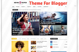 Newspaper 9 Blogger Template Free Download - GujjuAdvice