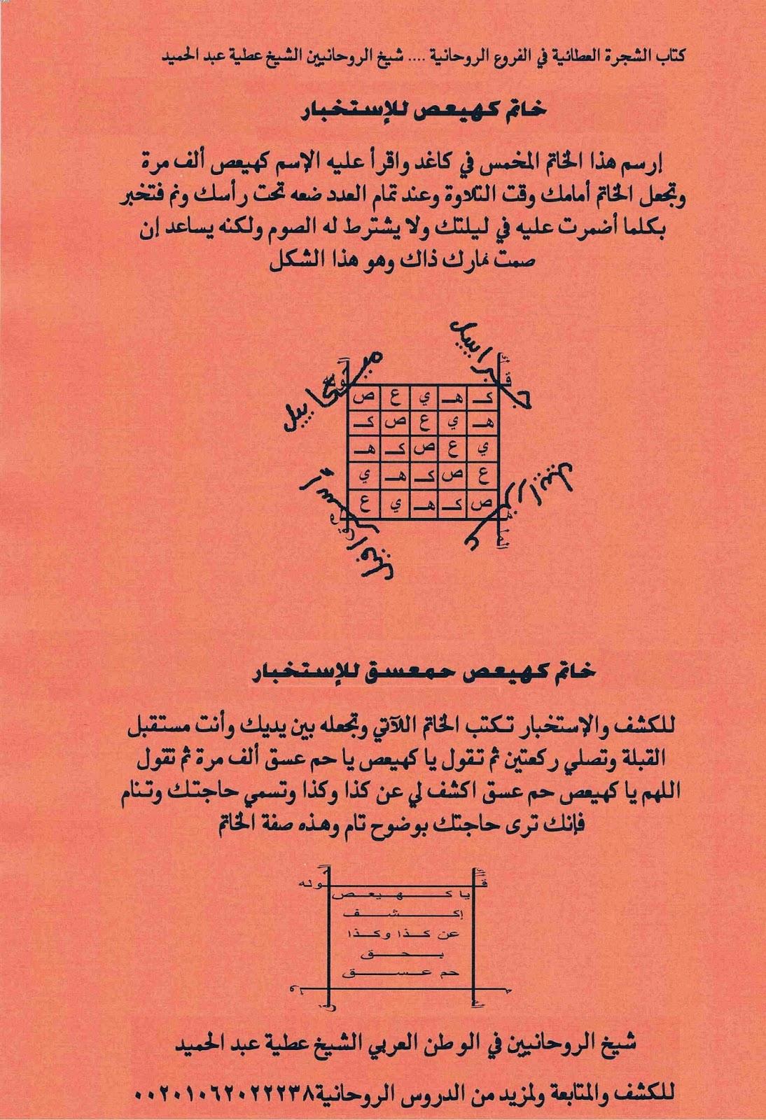 تحميل كتب الشيخ عطية عبد الحميد pdf