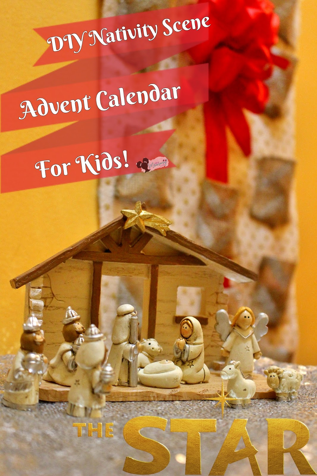 Calendar Advent Diy : Diy nativity advent calendar for kids thestar new mommy