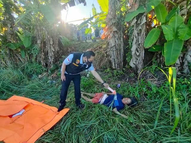 ODGJ di Seribanding Tewas Dibunuh Dengan Luka Sayetan Dileher