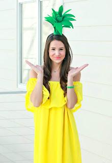 Easy Halloween Costume Ideas Pineapple