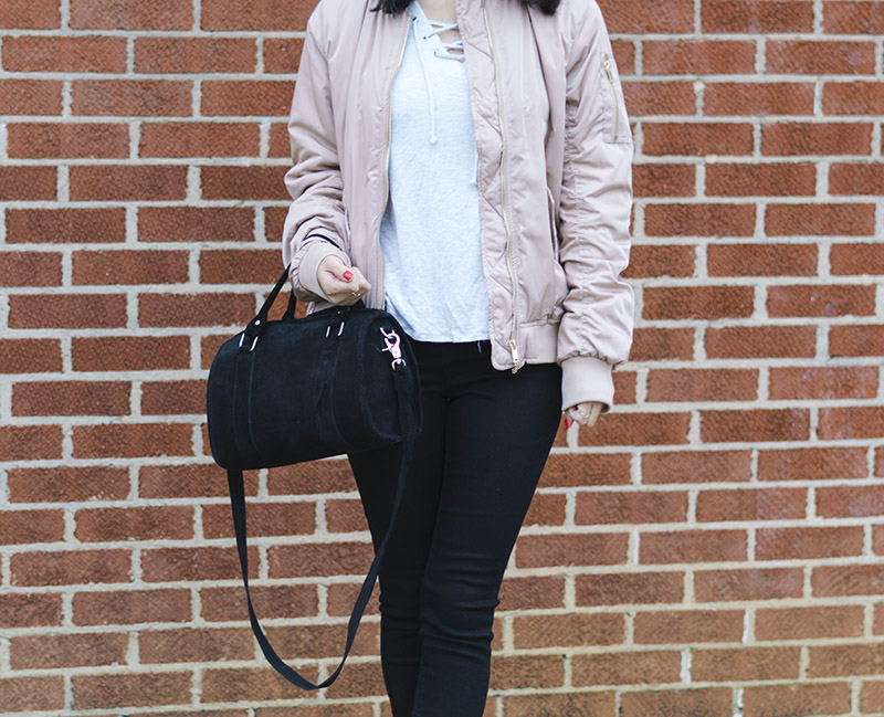 h&m beige bomber jacket and adidas stan smith