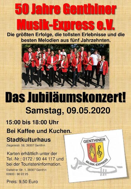 50 Jahre Genthiner Musik-Express e.V.