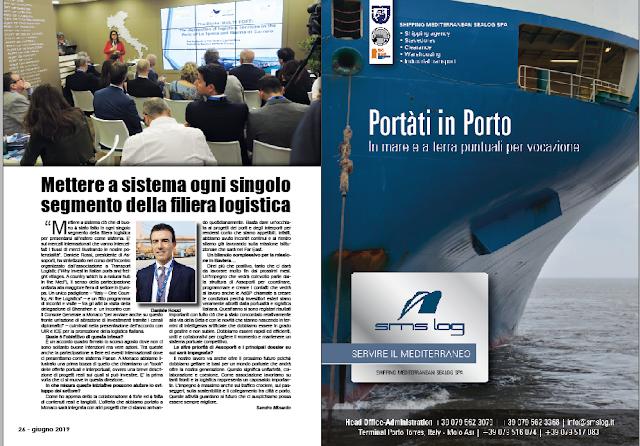 GIUGNO 2019 PAG. 26 - Mettere a sistema ogni singolo segmento della filiera logistica