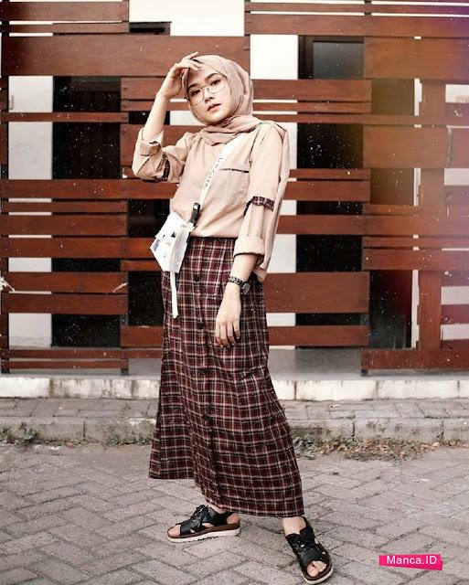 style hijab kekinian