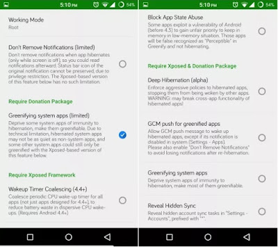 Download Greenify Pro Mod Apk Terbaru Full Gratis