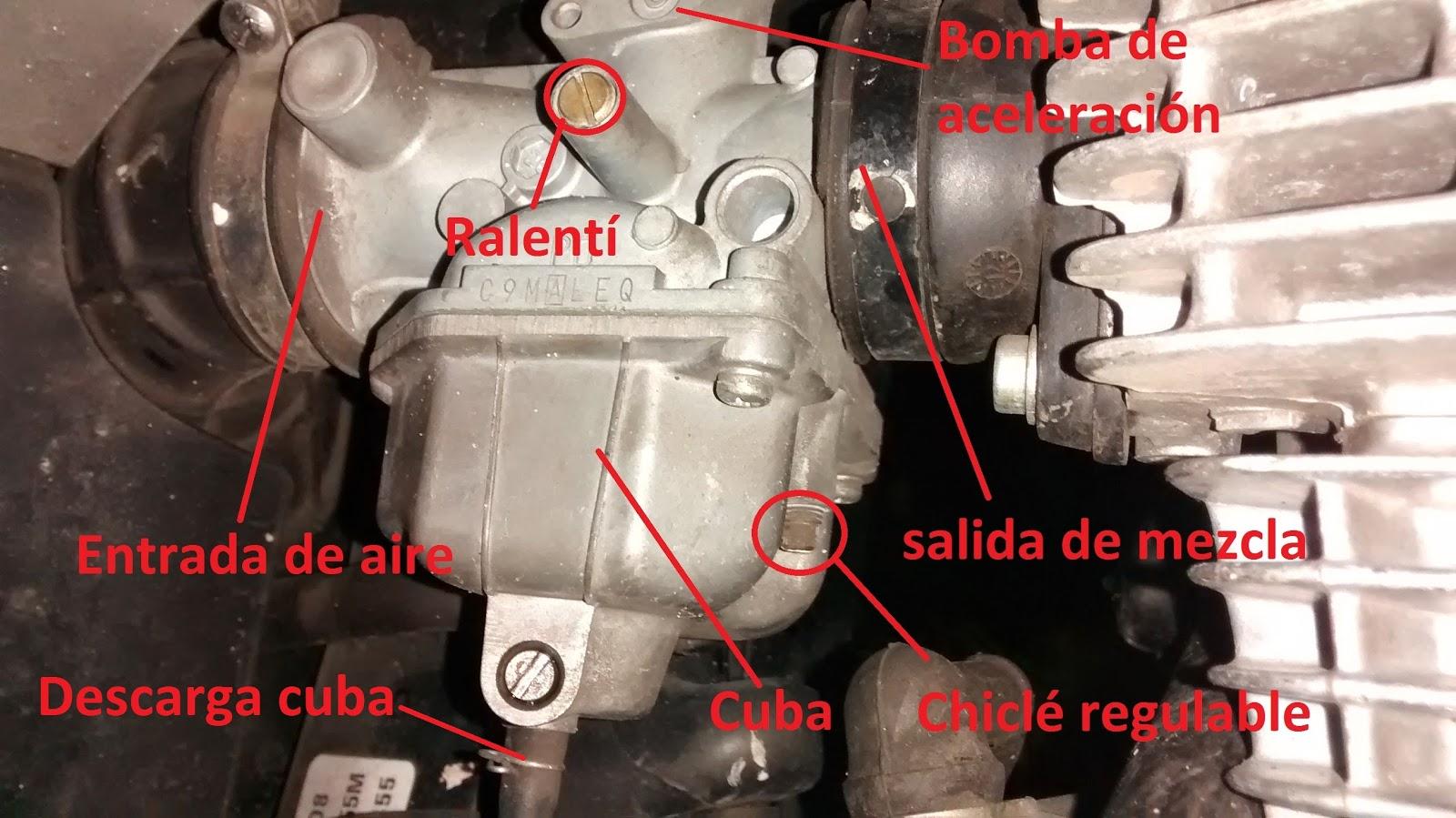 Yamaha crypton tira aceite por el filtro de aire