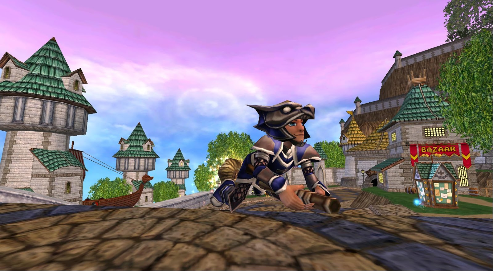 Around the Spiral with Edward Lifegem: What Was Wizard101 Like Back