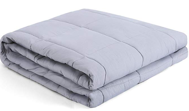best stress relief gifts: kpblis weighted sensory blanket