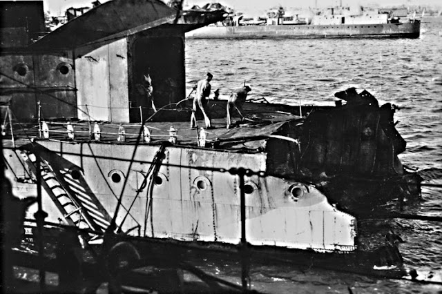 HMS Nubian battle damage 26 May 1941 worldwartwo.filminspector.com