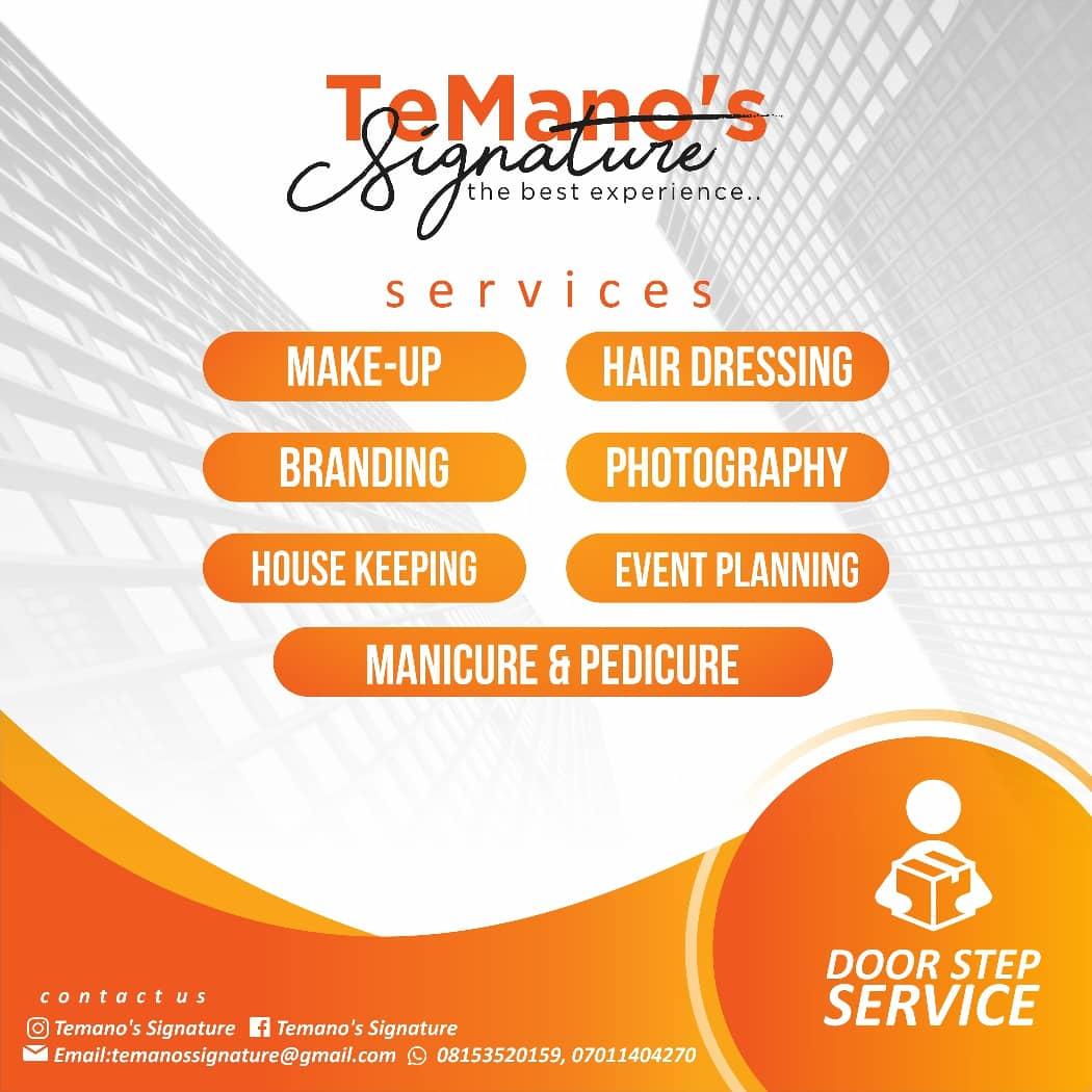 Temano's Signature Unveils Exclusive Services