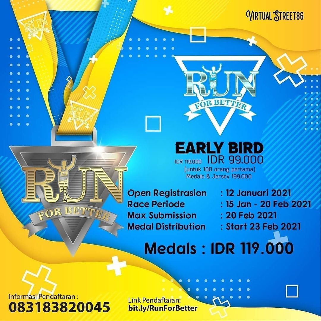 Virtual Run For Better • 2021