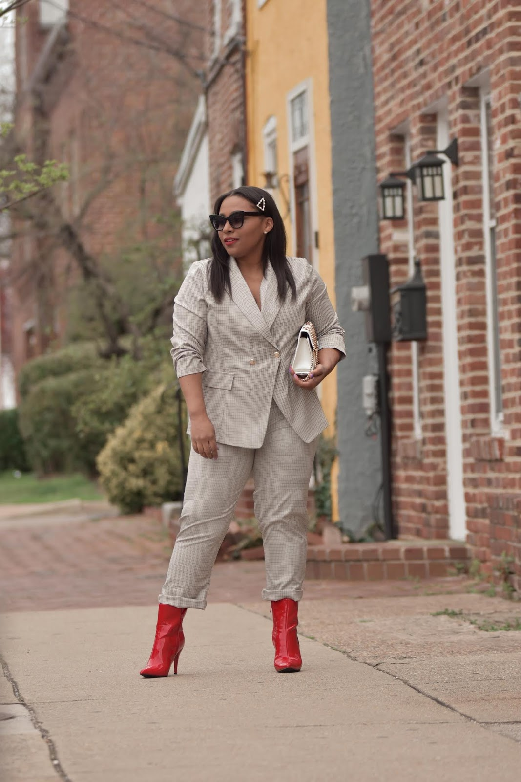 shein, shein reviews, matching separates, business chic, womens suit, two pieces suit, pattys kloset, outfit ideas for spring.