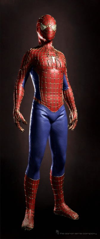Fashion and Action: Suit Up! - Amazing Spider-Man Concept ...