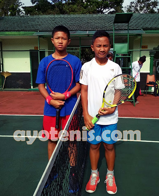 Tumbangkan Unggulan, Ozan Genggam Tiket Semifinal Kejurnas Tenis Yunior New Armada Cup XXIV