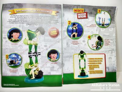 """colección de figuras de """"Campeones: Oliver y Benji"""" (Captain Tsubasa) de Altaya."""