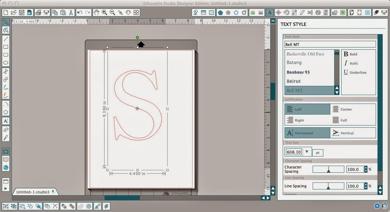 Layering HTV, heat transfer vinyl, without bulk, Silhouette tutorial, Silhouette Studio, text style