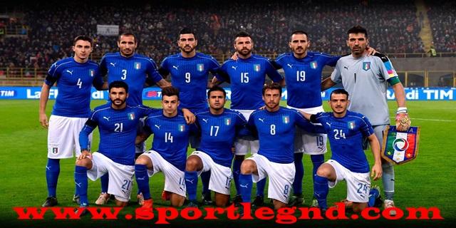 المنتخب الايطالي يتخلى عن قميصه الأزرق الشهير