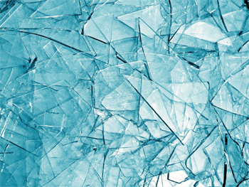 image of shattered glass