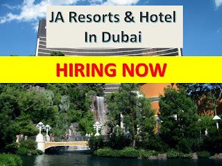 Hotel JObs In Dubai ,dubai hotel jobs