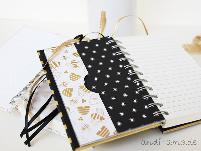 Notizbuch Innenausstattung selber machen