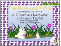 speech language companion packet