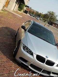 BMW 335i E92 front angle brick