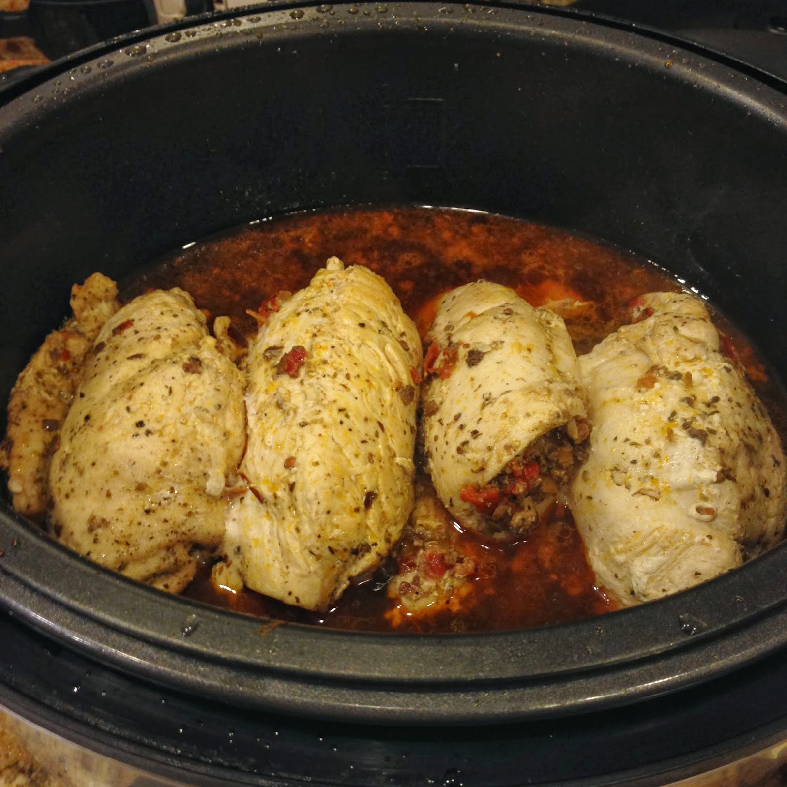Taste Of Hawaii Stuffed Chicken Breasts Pressure Cooker