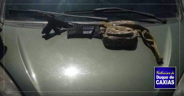Filho do Fernandinho Beira-Mar é preso em Duque de Caxias 2