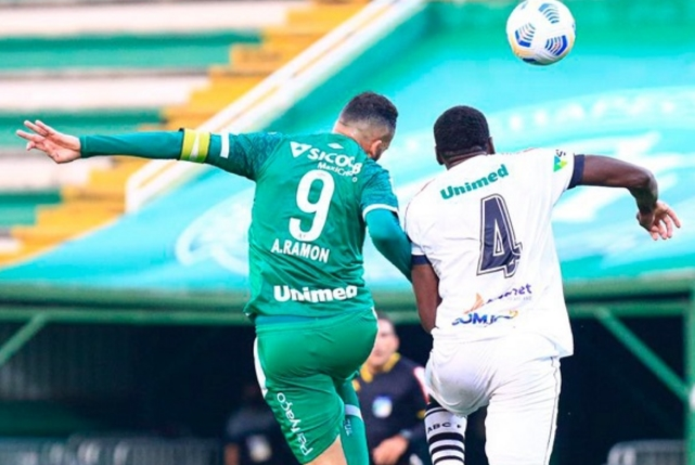 Copa do Brasil: Chapecoense vence o ABC por 3 a 1 no jogo de ida