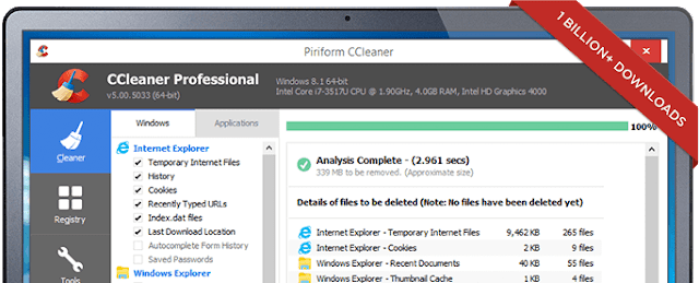 CCleaner computer software 02
