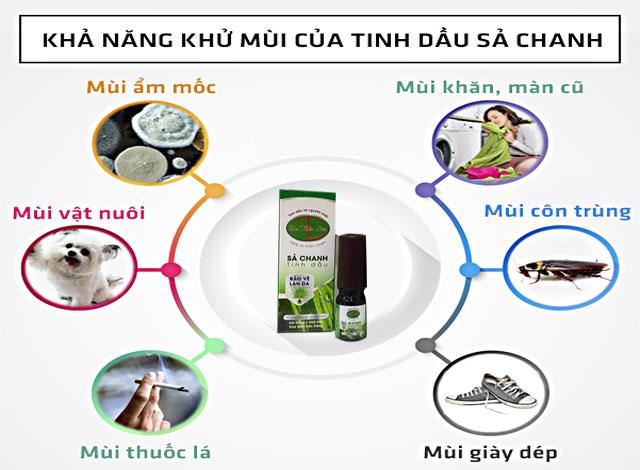 Tinh dầu sả chanh đa năng công dụng, hãy sử dụng ngay từ bây giờ để bảo vệ sức khỏe của gia đình mình bạn nhé