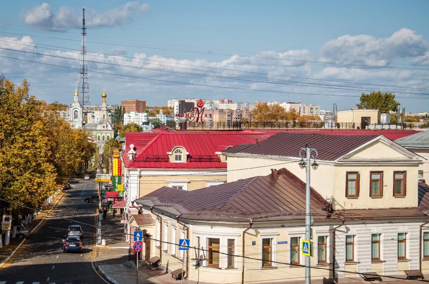 Крыши Владимира