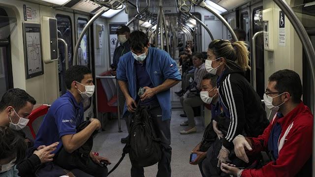 Χιλή: Υποχρεωτικά θα φορούν μάσκα όσοι χρησιμοποιούν τα μέσα μαζικής μεταφοράς