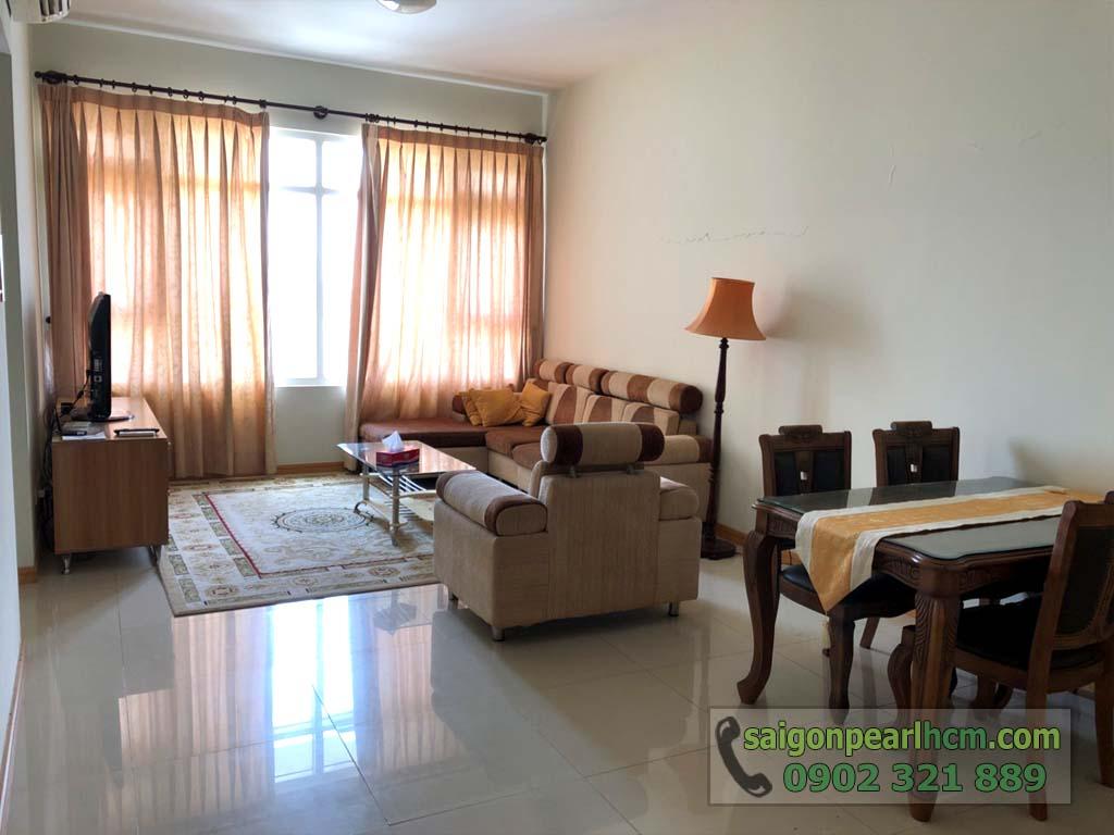 Căn hộ 88m2 cho thuê / bán Saigon Pearl Bình Thạnh full nội thất  - hình 5