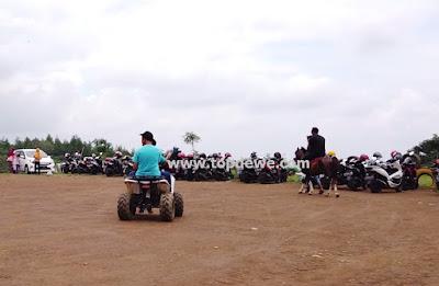 ATV dan Berkuda di wisata poetoek soeko trawas mojokerto