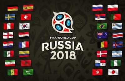 Negara-Negara yang akan bertanding di Piala Dunia 2018 kali ini (brilio.net)