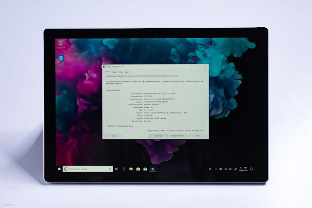 Surface Pro 6 cũ