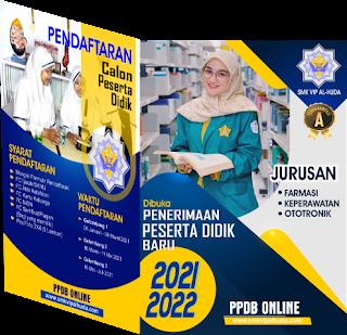 CONTOH MODEL BROSUR PPDB SMK TAHUN 2021 C