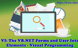 Unit VI: The VB.NET Forms and User Interface Elements – Visual Programming
