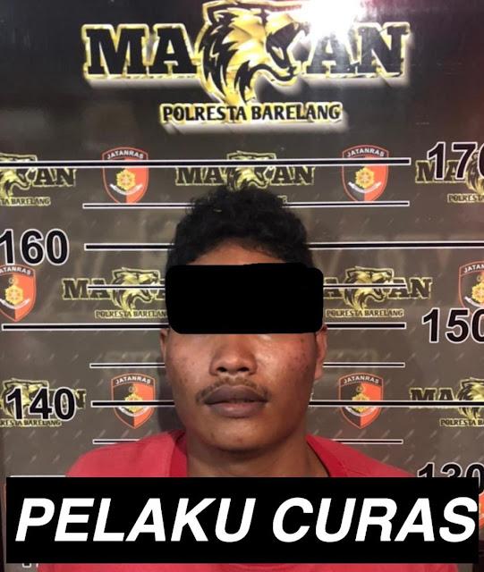 Seorang Pria Pelaku Curas Diringkus  Satreskrim Polresta Barelang