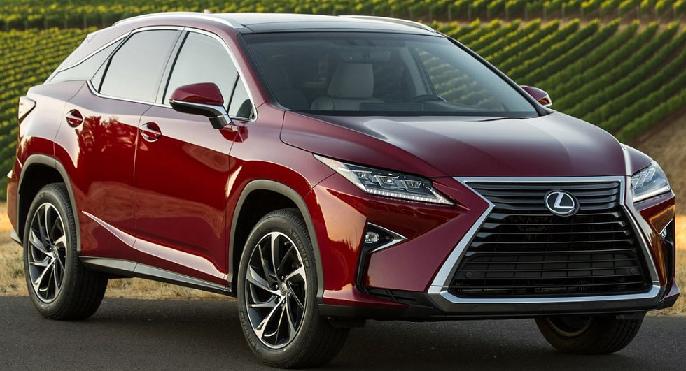 Soccer Moms Rejoice, 3-Row Lexus RX Reportedly Coming In October